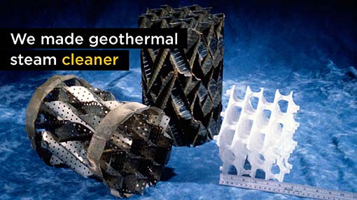 A photo of a geothermal cleaning device.