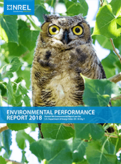 Cover of the 2018 Annual Site Environmental Report.