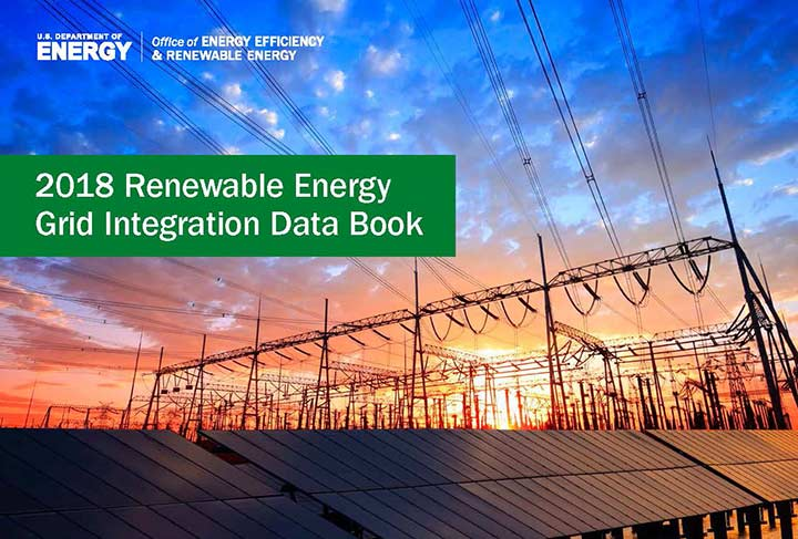 Image of cover of 2018 Renewable Energy Grid Integration book