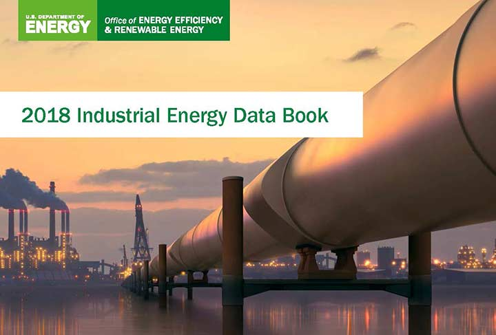 Image of cover of 2018 Industrial Energy Data book