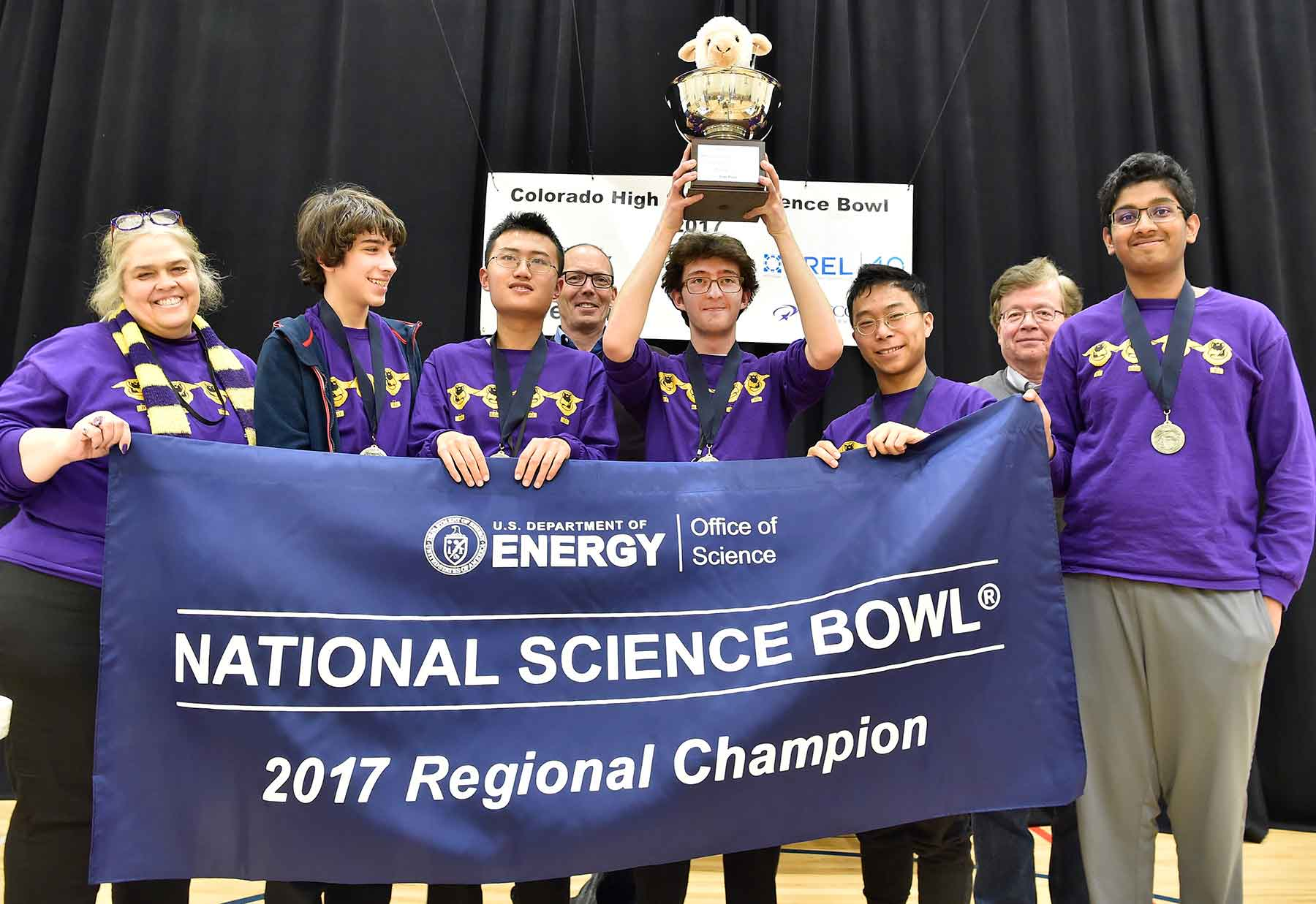 Lambkins Roar as the Top High School in the 27th Colorado Science Bowl