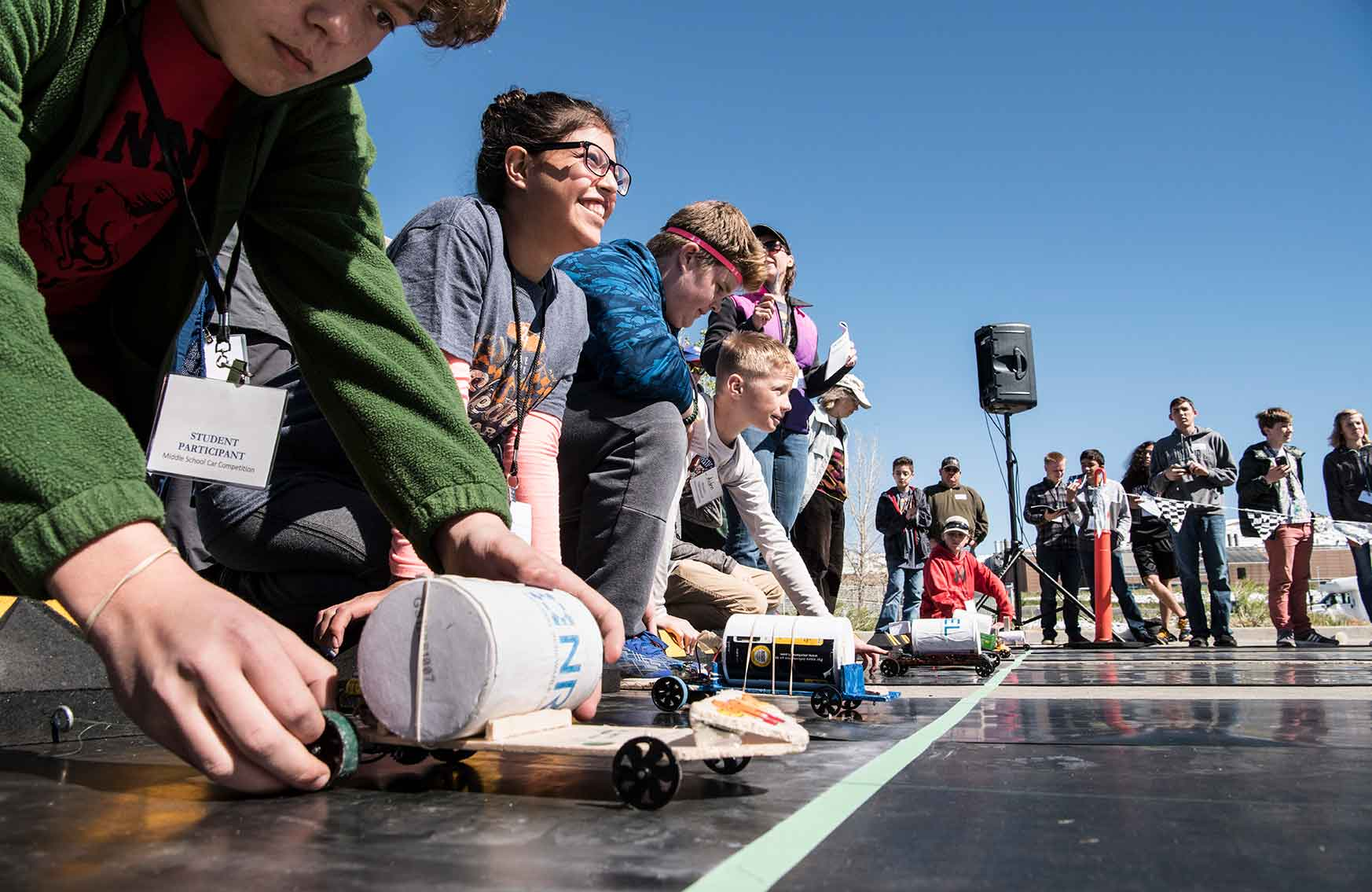 STEM Knowledge Puts Middle Schoolers in Driver's Seat