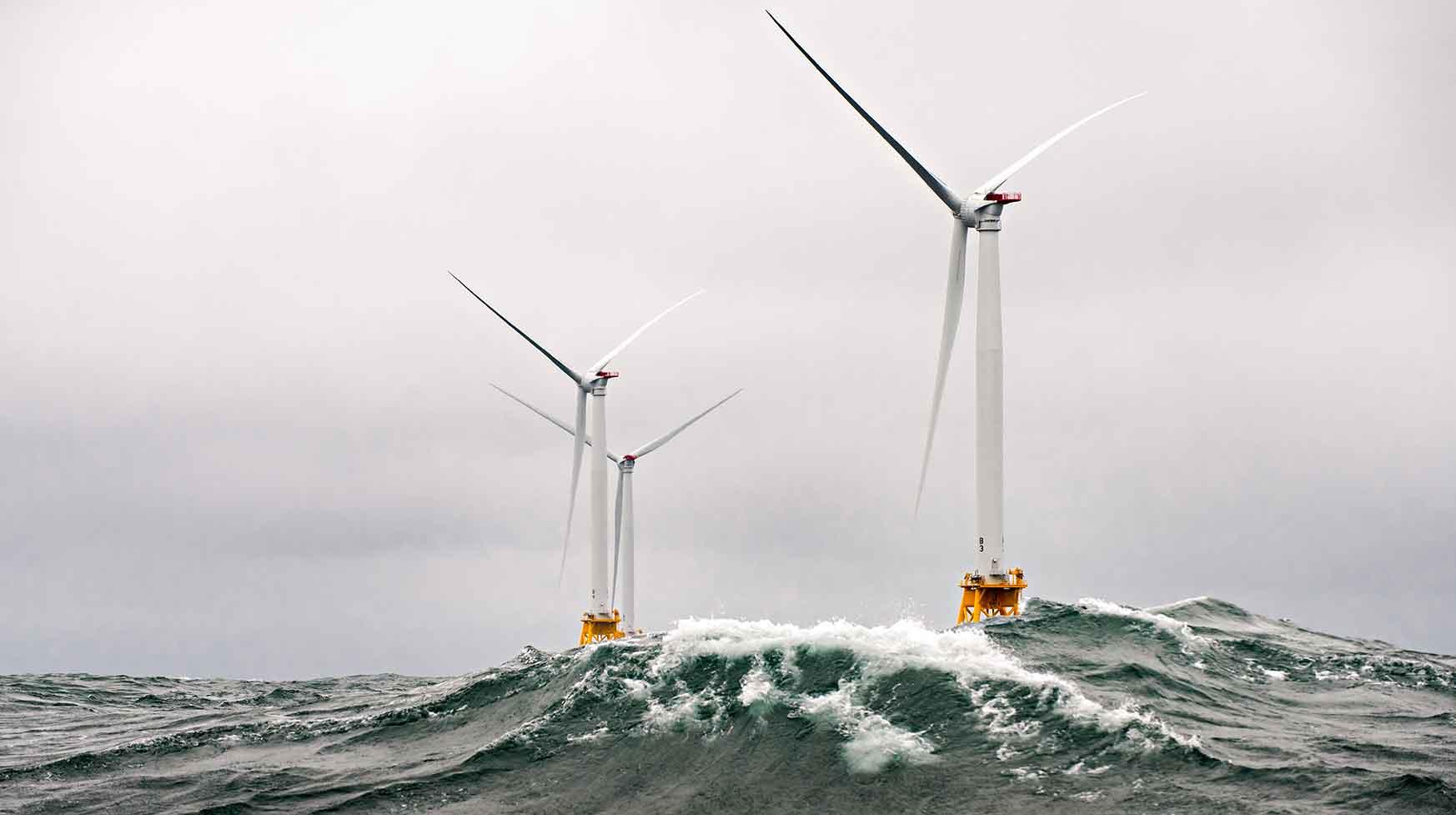 America's Wind Energy Future Looks Seaward