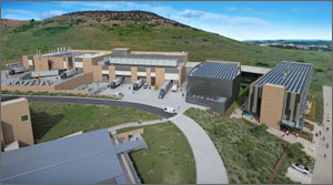 Rendering of the Energy Systems Integration Facility looking from west to east.