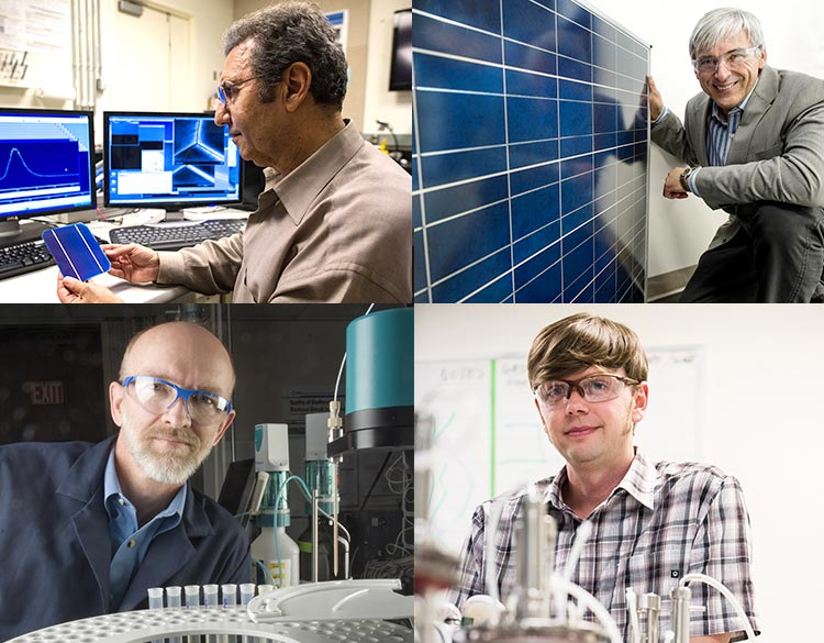 News Release: NREL Names Four Scientists Senior Research Fellows