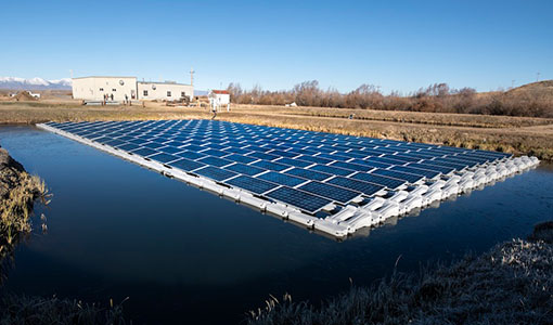 News Release: Untapped Potential Exists for Blending Hydropower, Floating PV