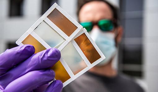 News Release: Colorful Perovskites: NREL Advances Thermochromic Window Technologies