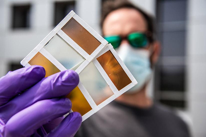 News Release: Colorful Perovskites: NREL Advances Thermochromic Window  Technologies   News   NREL