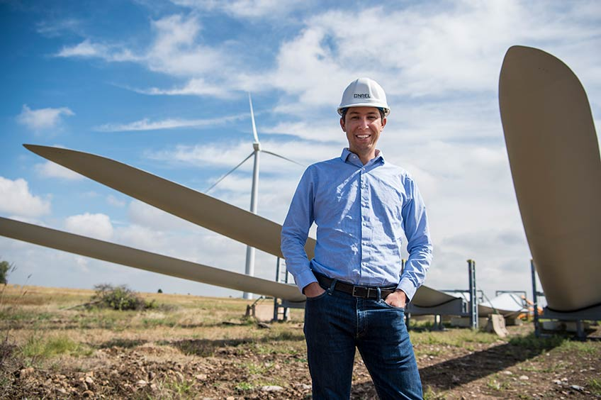 From Intern to Engineer, Nick Johnson Follows the Wind to NREL
