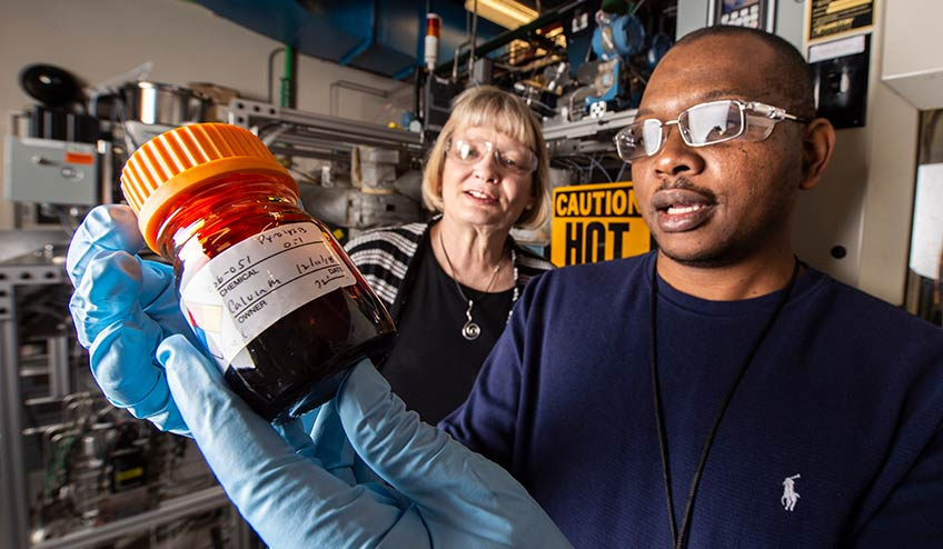 Advancements in Catalytic Fast Pyrolysis Give Biofuels a Boost