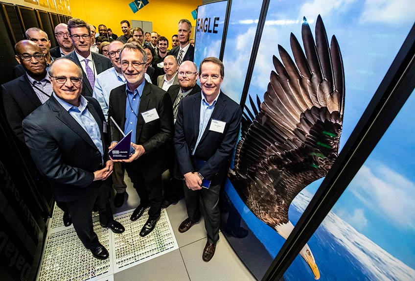 NREL's New Supercomputer, Eagle, Takes Flight