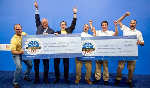 First-Ever American-Made Solar Prize Concludes, Awards Round 1 Winners: Phase3 Photovoltaics, Solar Inventions
