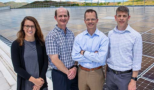 Analysis Team Awarded for Studies of NASA-Sited Solar Project