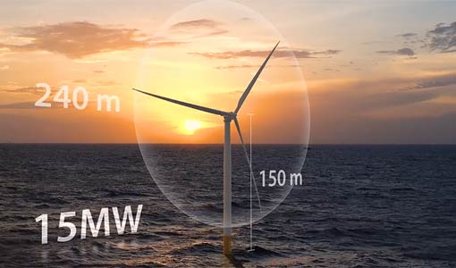 New Reference Turbine Gives Offshore Wind an Upward Draft