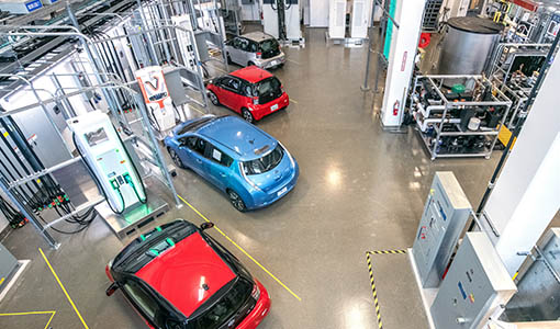 Advanced Charging Systems Research Moves Consumer and Commercial Electric Vehicles Faster and Further