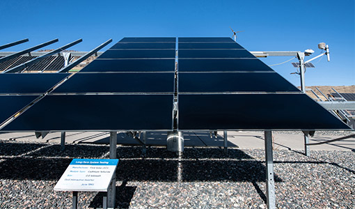 First Solar's Photovoltaic Technology Completes 25 Years of Testing at NREL