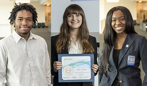 Winners of 2020 JUMP into STEM Take Virtual Internships in Stride; Contribute to Building Science Research