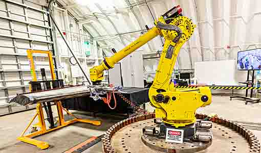 Engaging Autopilot: NREL Explores Automation To Build Better Blades, Lower Costs, and Transform Wind Technology Manufacturing