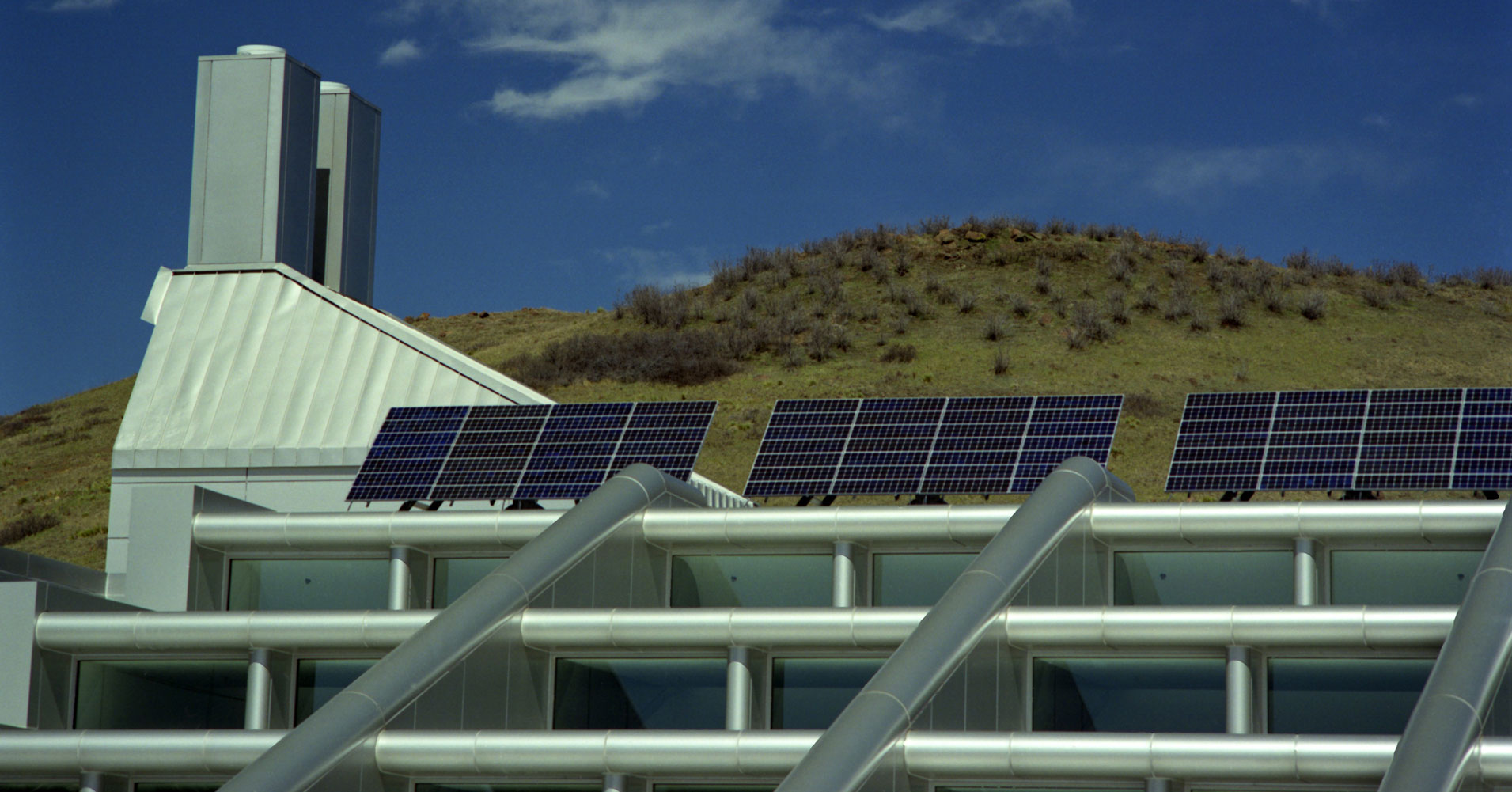 Photo of the Solar Energy Research Facility