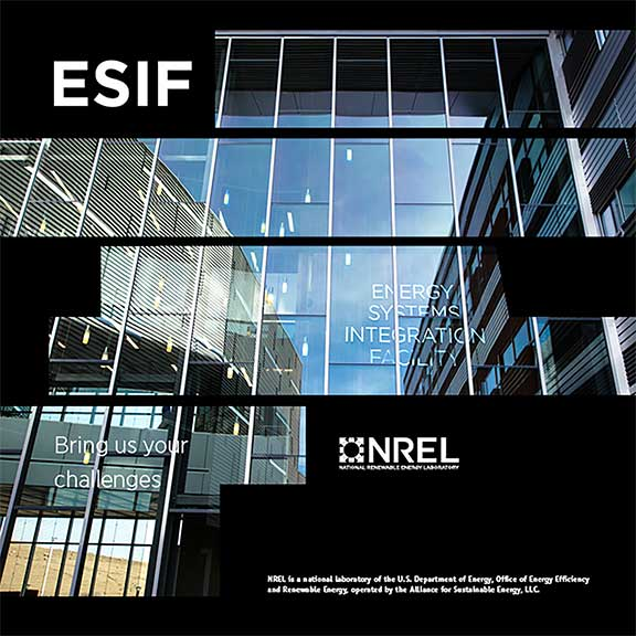 NRELs Energy Systems Integration Facility brochure cover