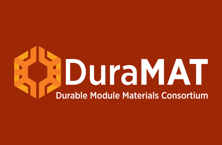 Graphic of the DuraMAT logo