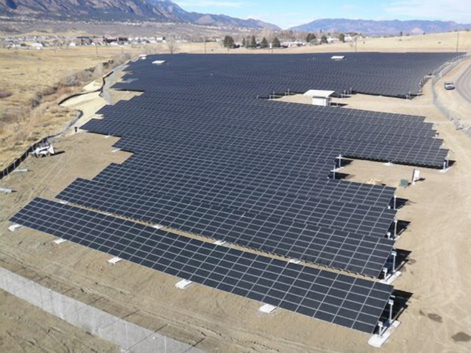 Large PV array