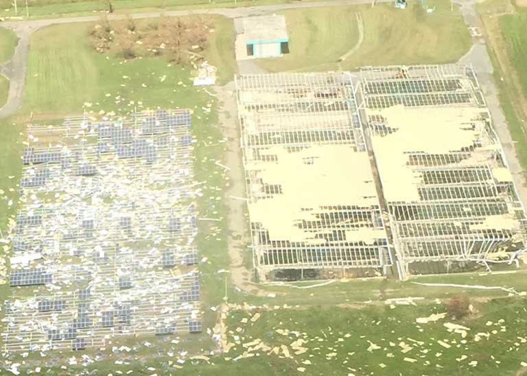 How Is Solar Pv Performing In Hurricane Struck Locations