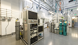Photo of scientific equipment in laboratory setting.
