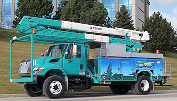 Odyne Plug In Hybrid Electric Utility Truck Evaluation