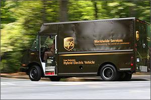 Ups Hybrid Electric Delivery Van Testing Transportation